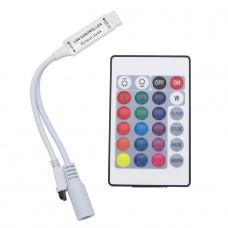 Sterownik IRED do taśm LED RGB 24 przyciski