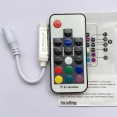 Sterownik radiowy do taśm LED RGB 17 przycisków