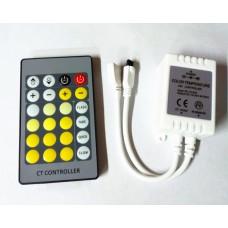 2 kanałowy sterownik do taśm LED multiwhite, sterowanie temperaturą barwową